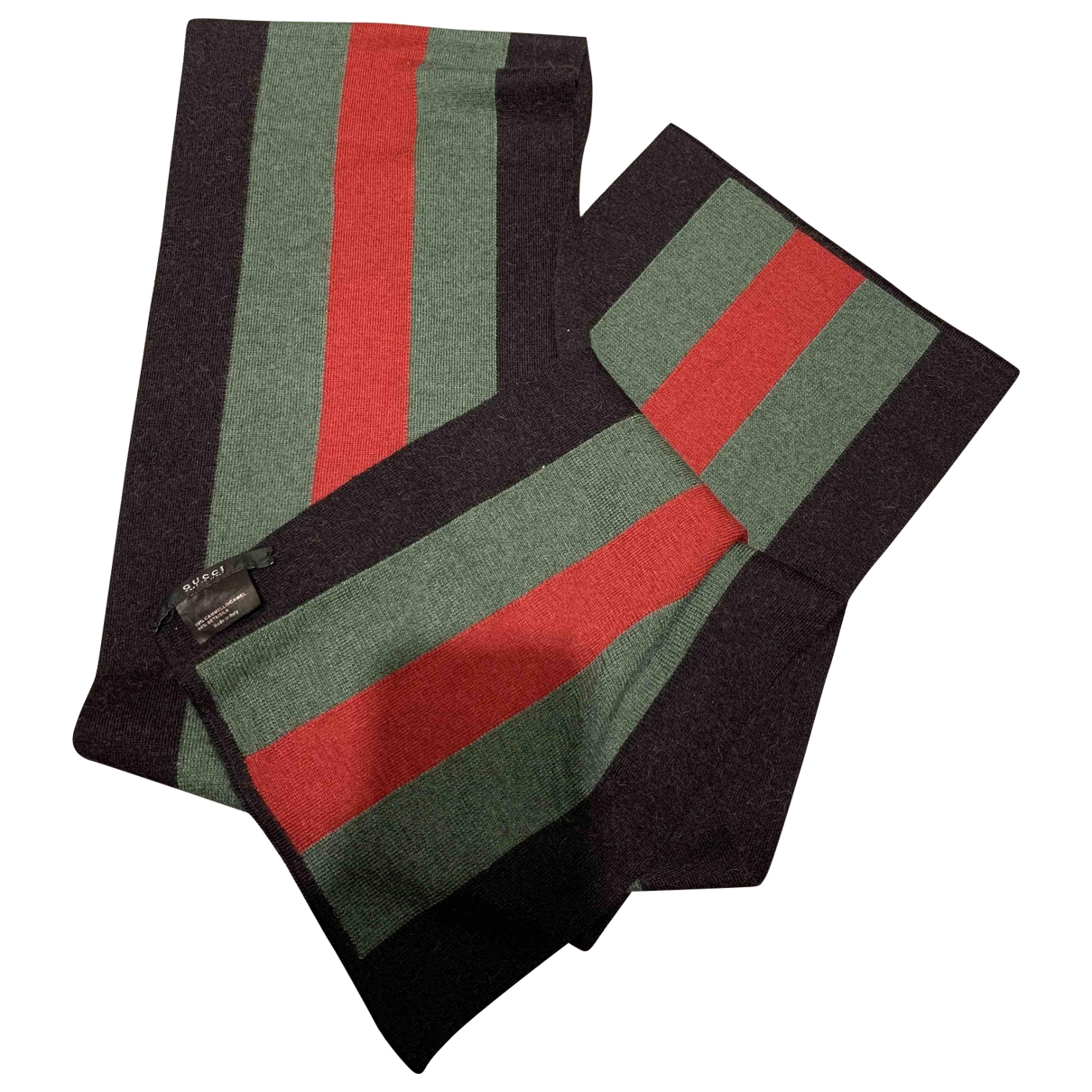 Gucci \N Black Silk scarf & pocket squares for Men \N