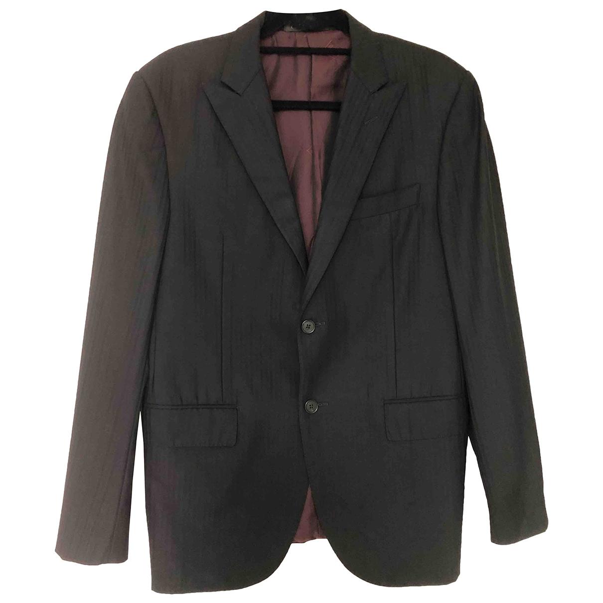 Corneliani \N Black Wool jacket  for Men M International