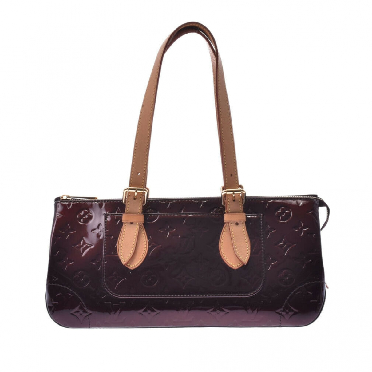 Louis Vuitton Rosewood Burgundy Leather handbag for Women \N