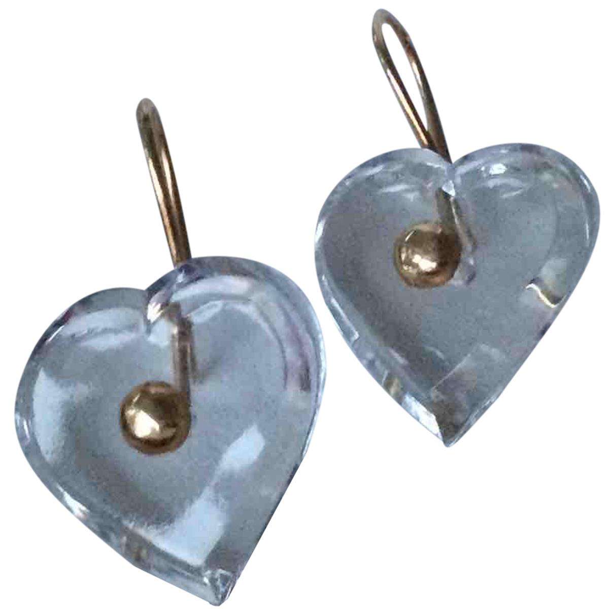 Baccarat - Boucles doreilles   pour femme en cristal