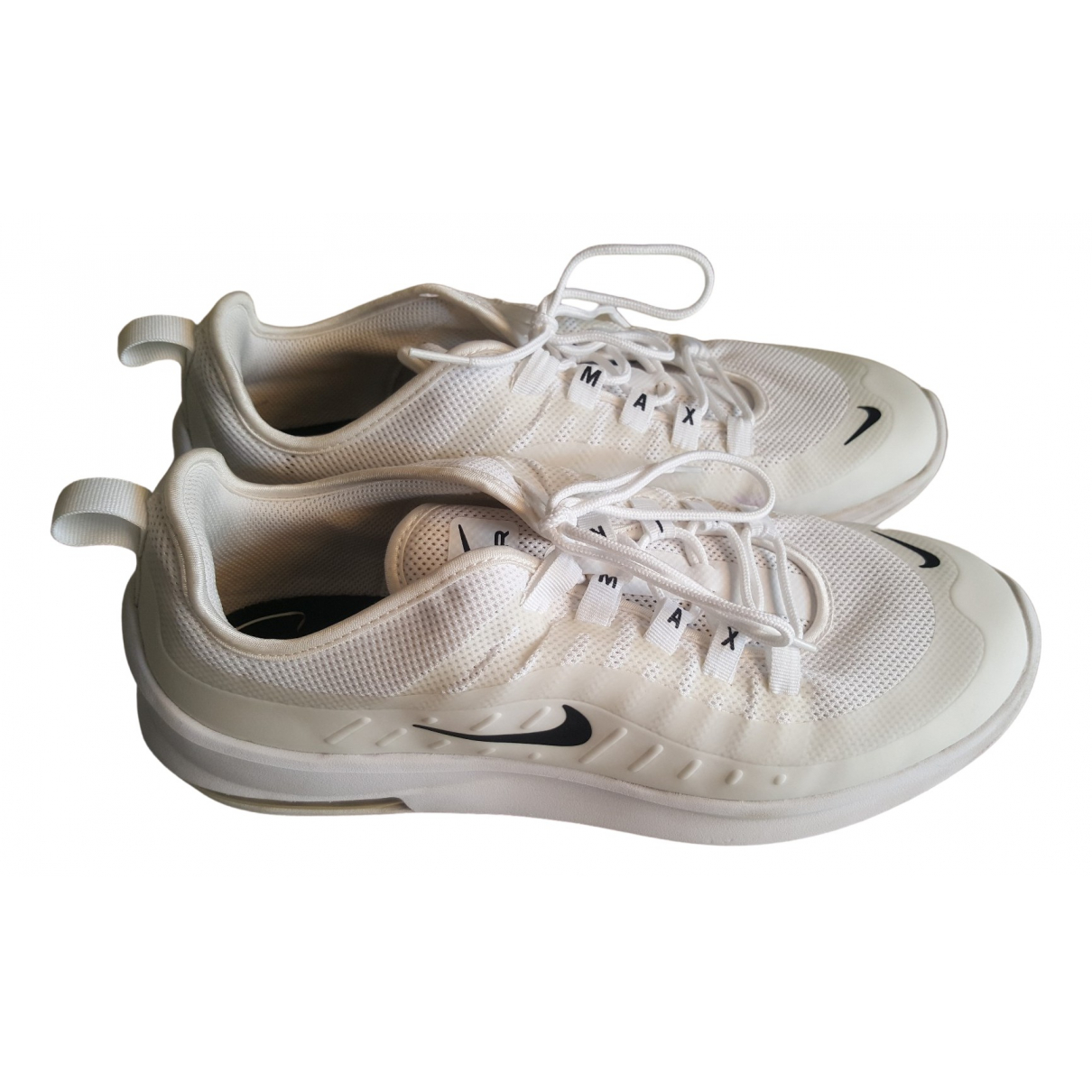 Nike Air Max  Sneakers in  Weiss Leinen