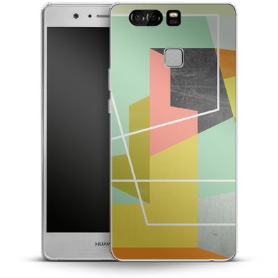 Huawei P9 Silikon Handyhuelle - Color Block II von Susana Paz