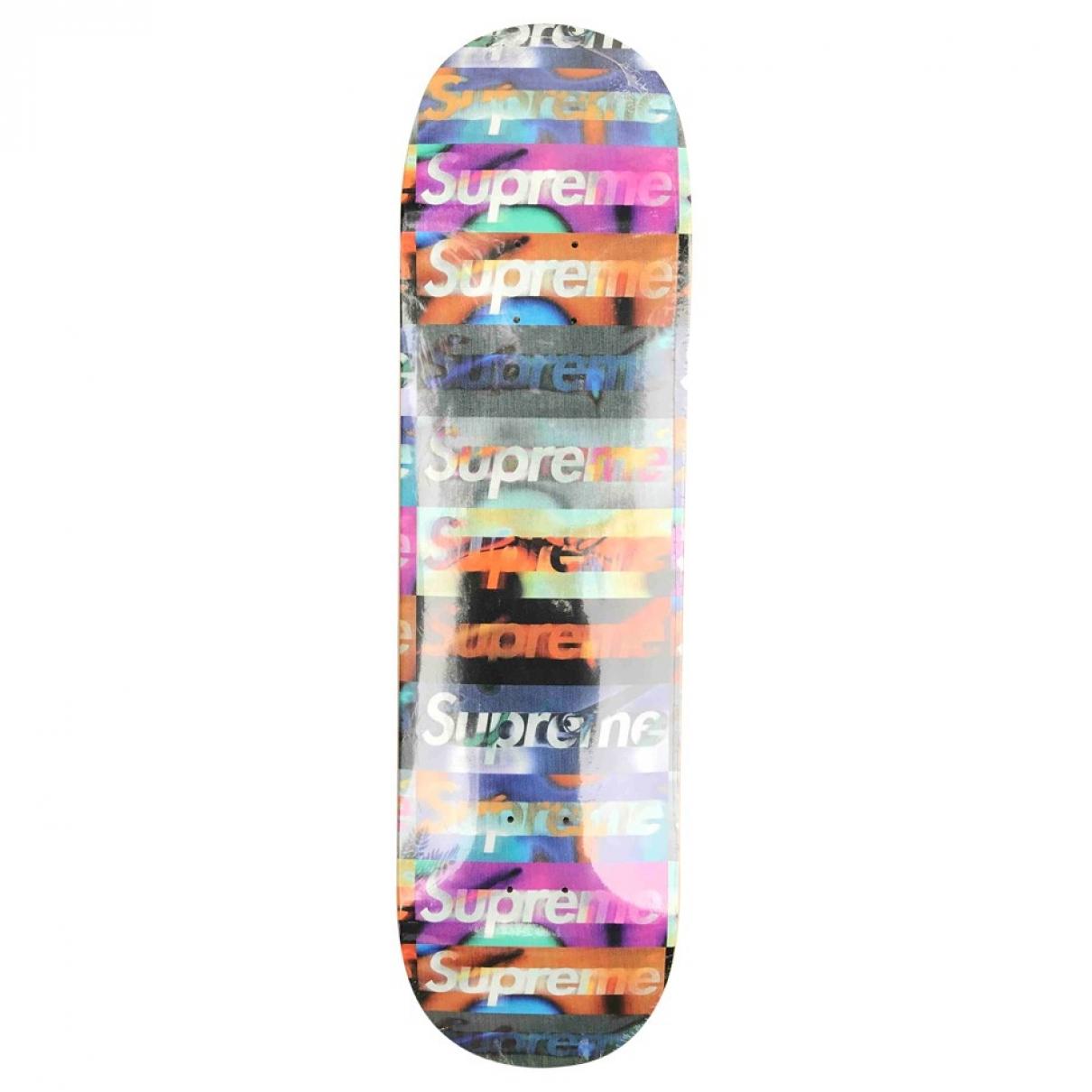 Supreme - Glisse   pour lifestyle en bois - multicolore