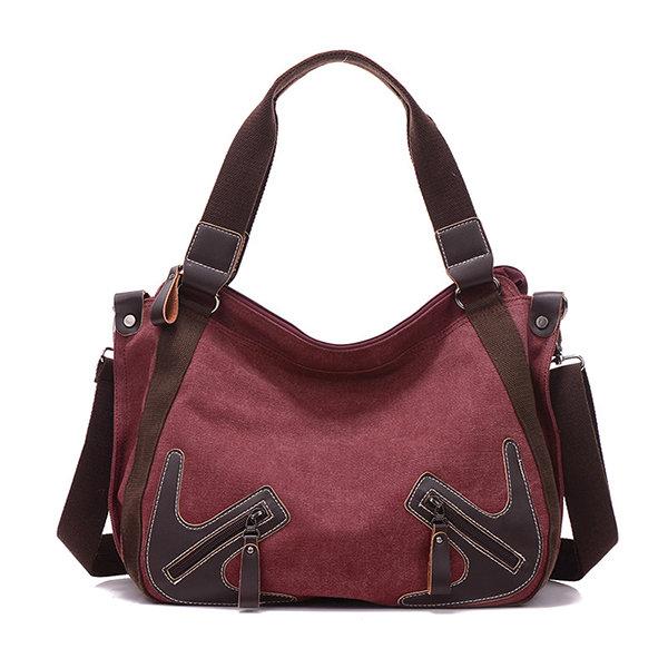 Women Canvas Large Capactiy Handbag Casual Shoulder Bags Crossbody Bags