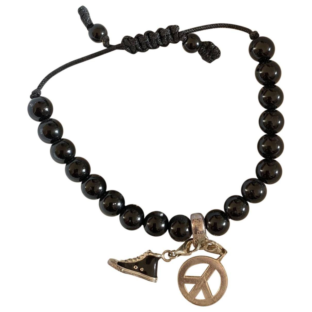 Thomas Sabo \N Armband in  Schwarz Silber
