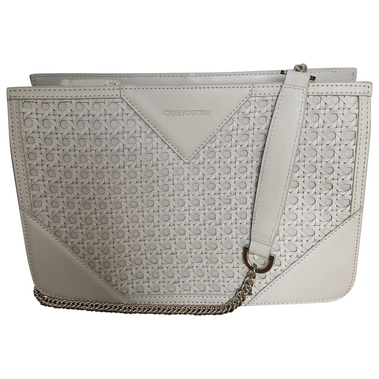 Anne Fontaine \N Beige Leather handbag for Women \N