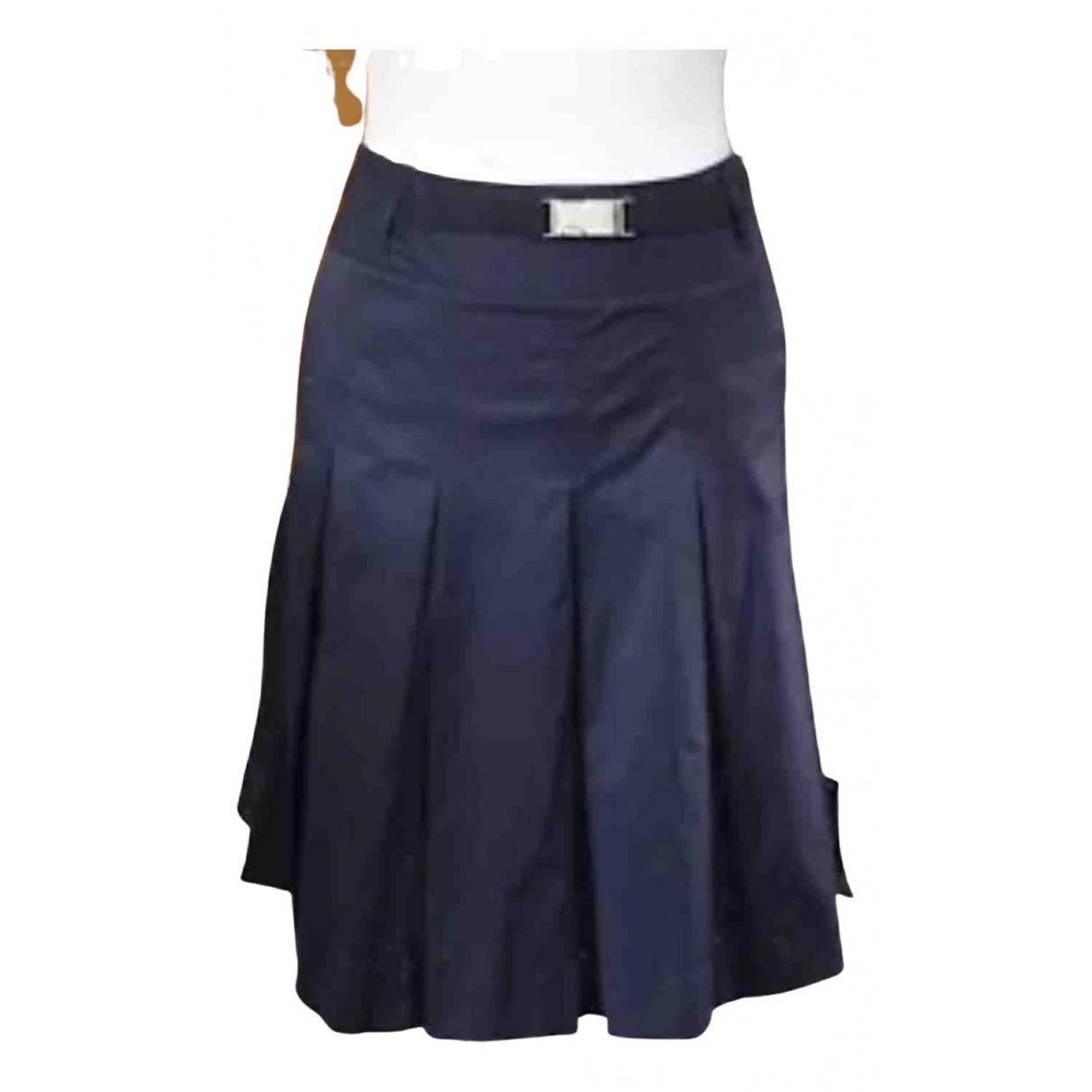 - Jupe Oversize pour femme en coton - marine