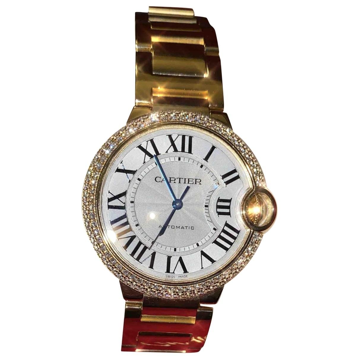 Cartier Ballon bleu Gold Yellow gold watch for Women \N