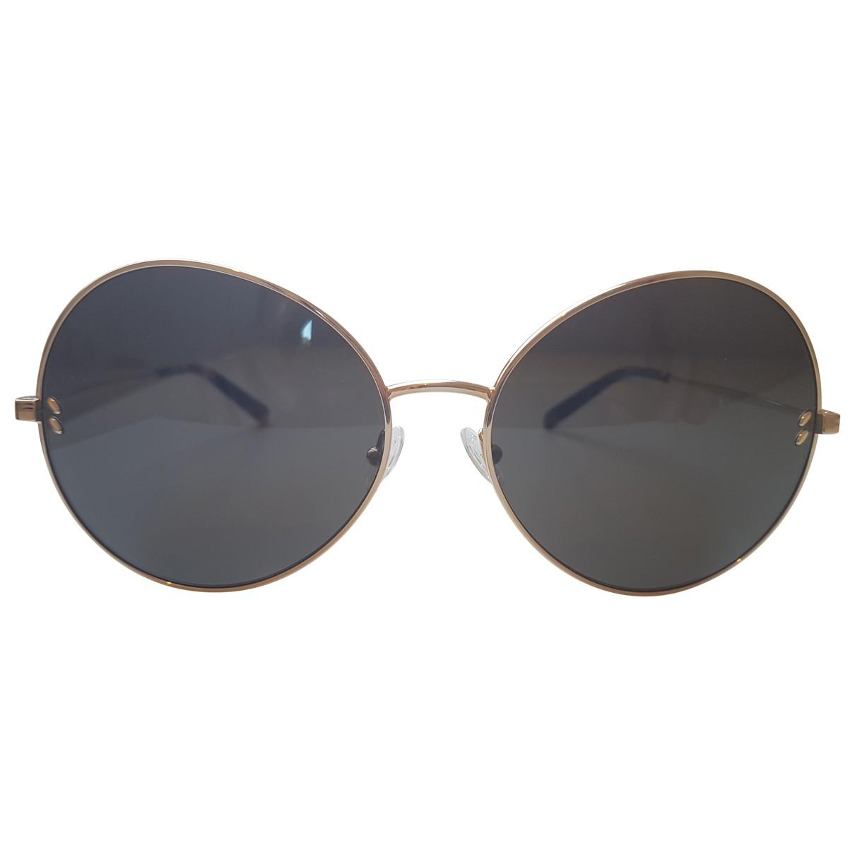 Stella Mccartney \N Gold Metal Sunglasses for Women \N