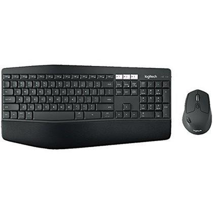 Logitech@ MK850 combo de clavier et souris sans fil performant