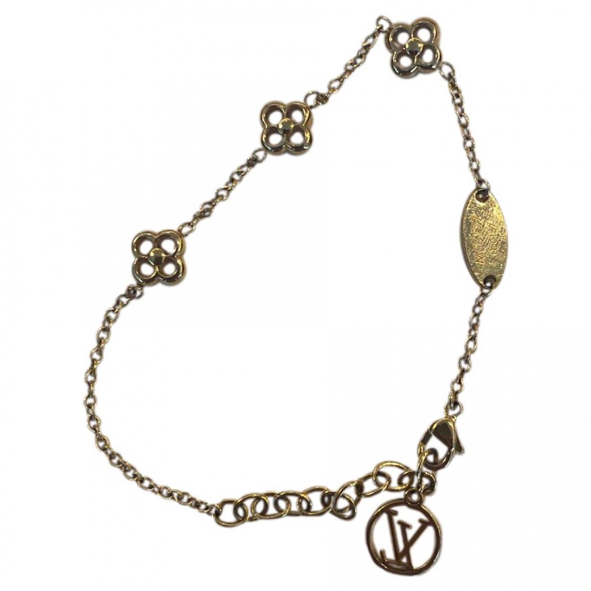 Louis Vuitton - Bracelet Alphabet LV&ME pour femme en metal - dore