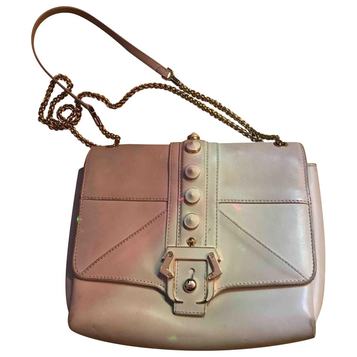 Paula Cademartori \N Handtasche in  Weiss Leder