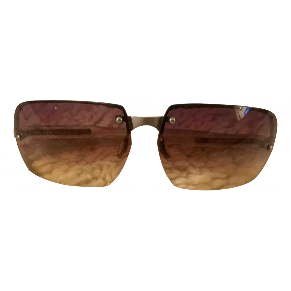 Prada \N Brown Sunglasses for Women \N