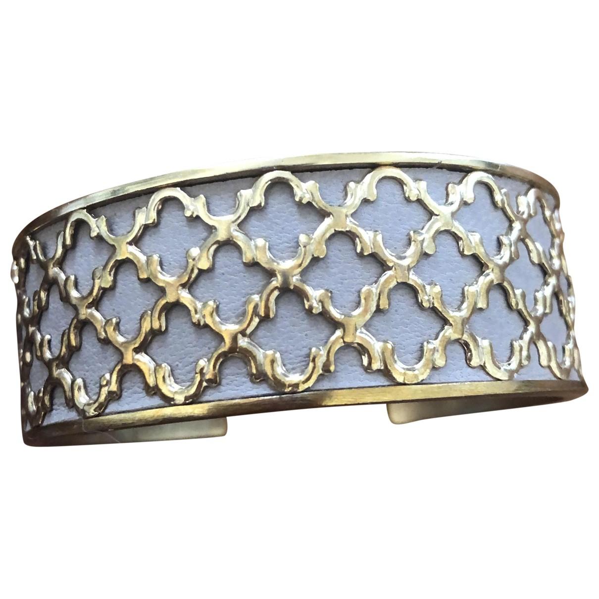 Dear Charlotte - Bracelet   pour femme en plaque or - dore