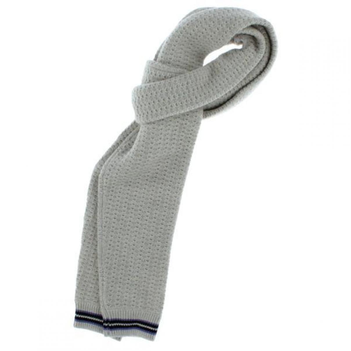 Lanvin \N Schal in  Grau Wolle