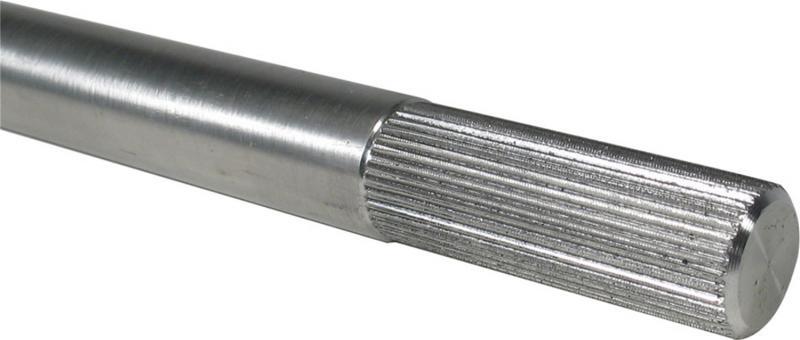 Borgeson 439214 Steering Shaft; 3/4-36 Splined; Aluminum; 14in. Long; 2in. Spline Length