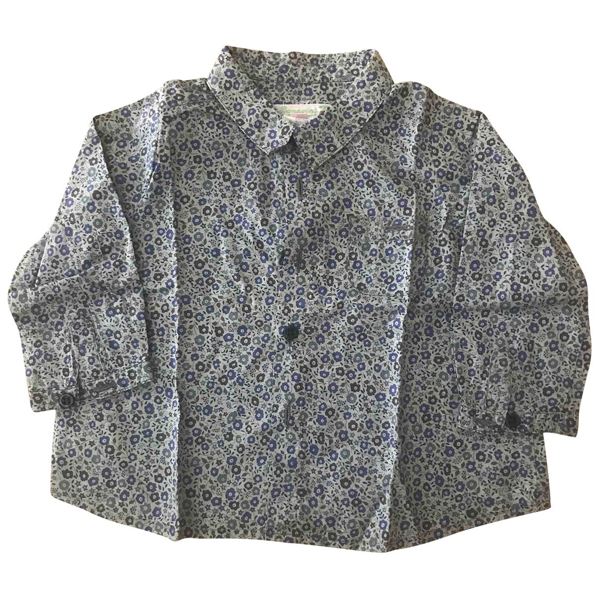 Bonpoint - Top   pour enfant en coton - kaki