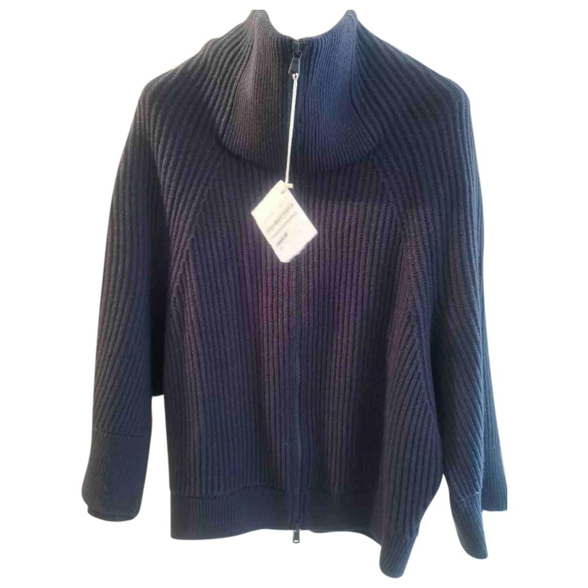 Brunello Cucinelli - Pull   pour femme en cachemire - bleu
