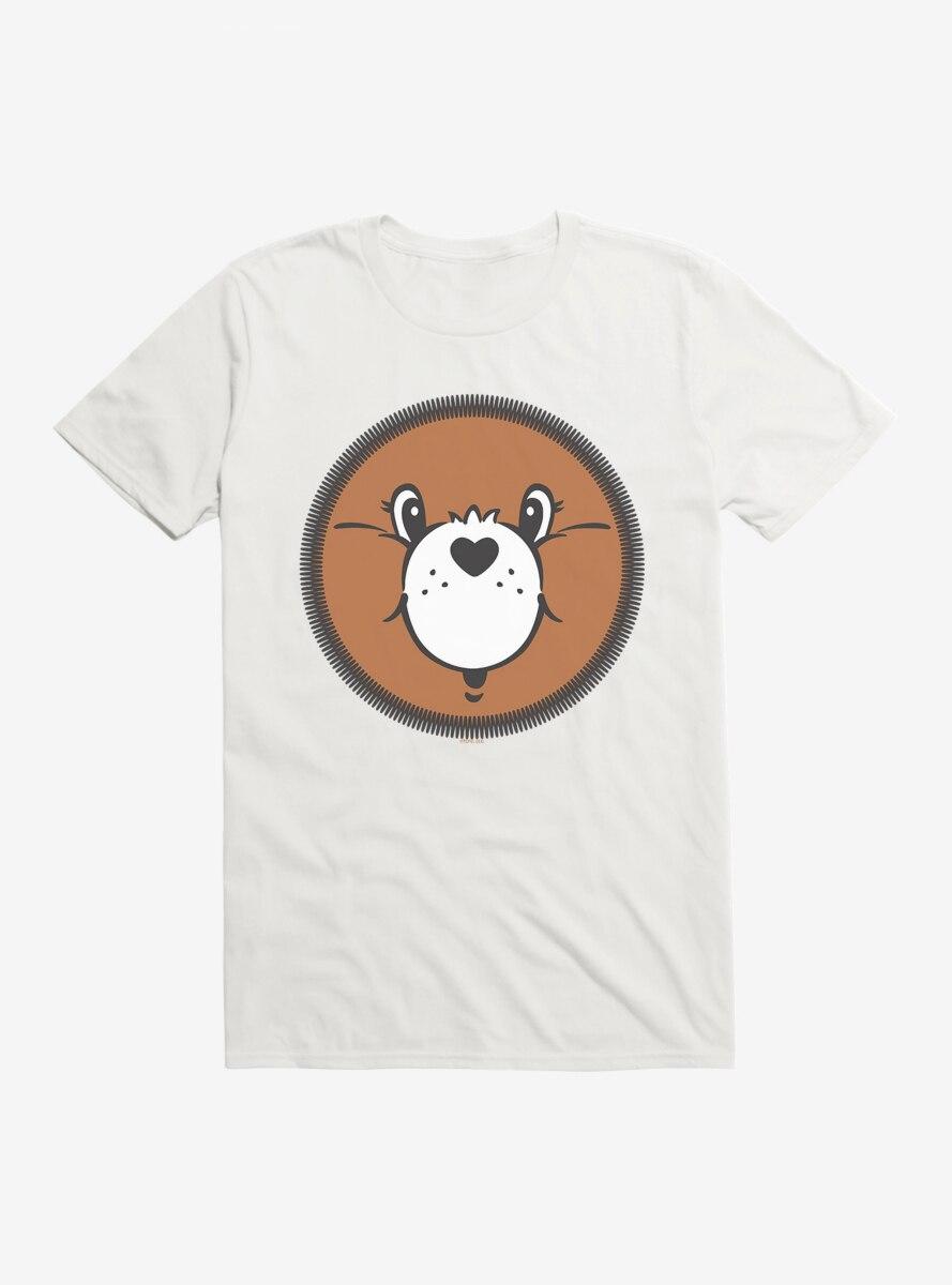 Care Bears Tenderheart Bear Face T-Shirt