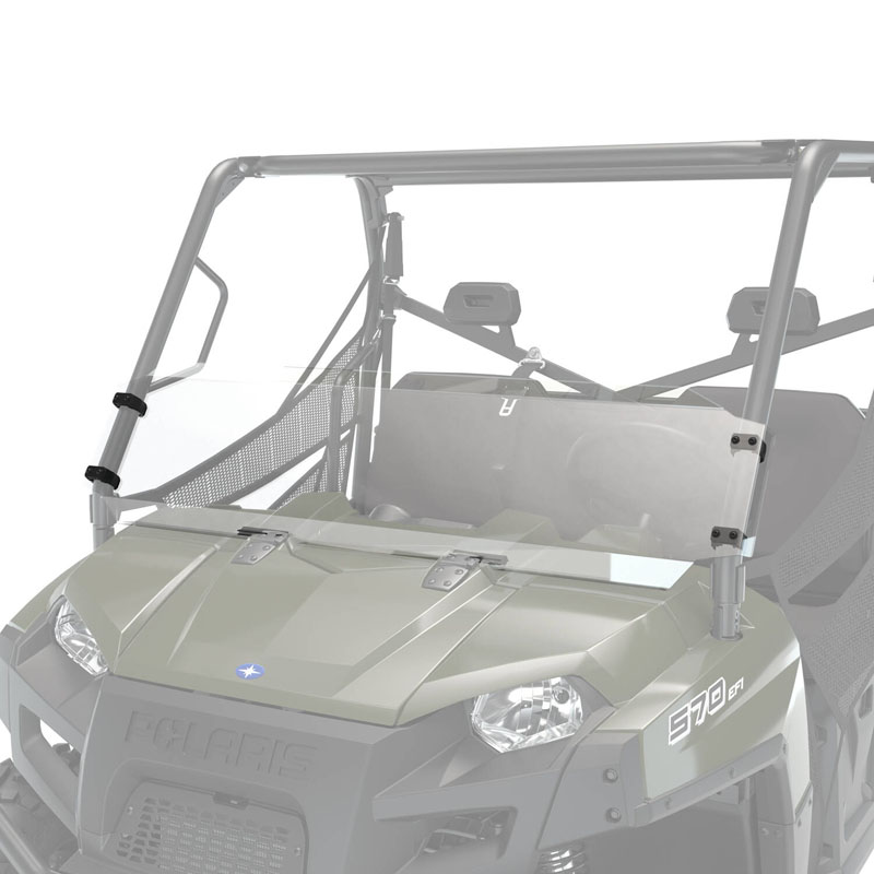 Polaris Hard Coat Poly Windshield