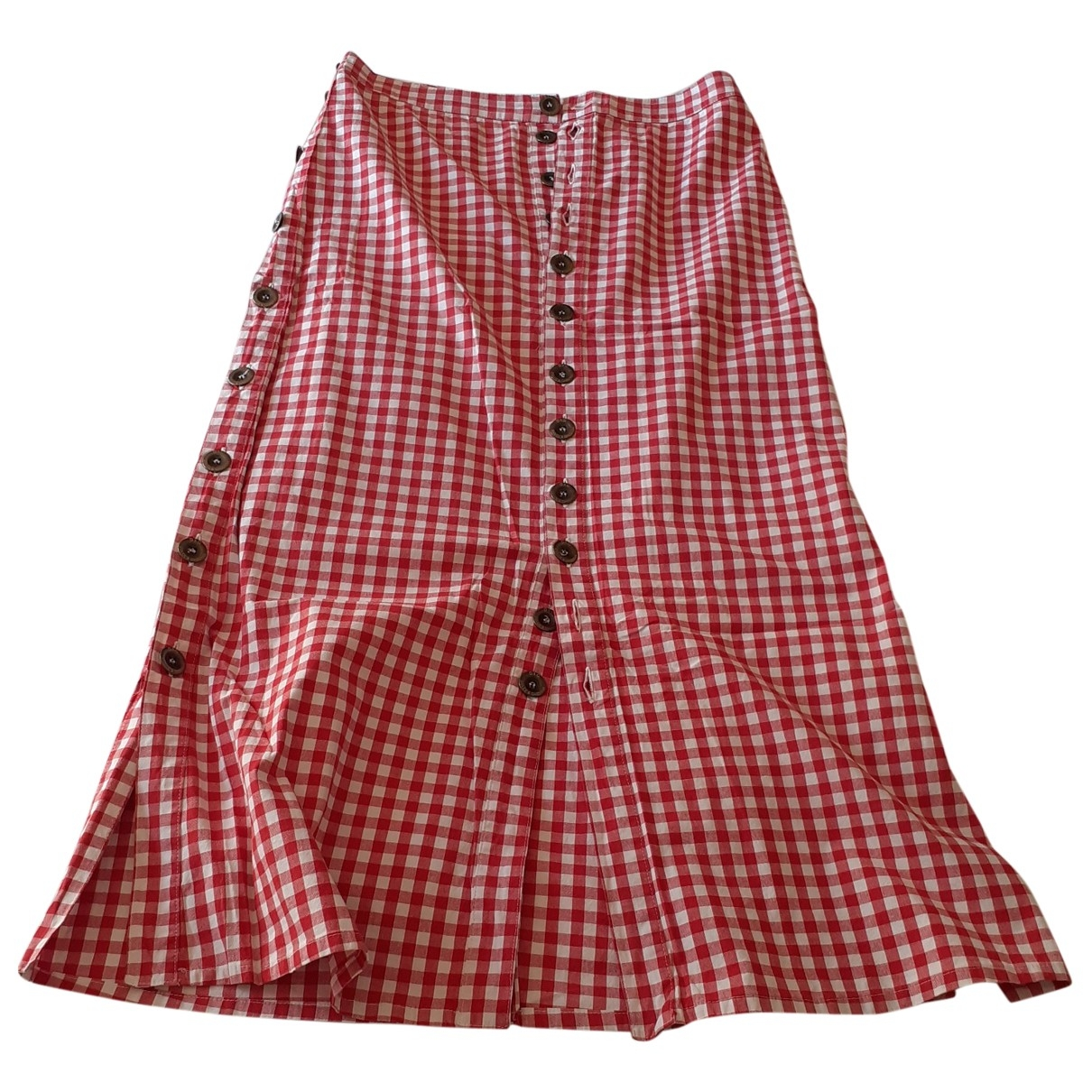 D&g \N Red Cotton skirt for Women 38 FR