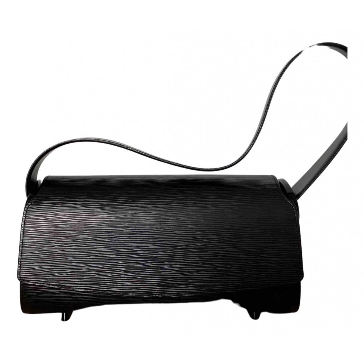 Bolso baguette Nocturne de Cuero Louis Vuitton