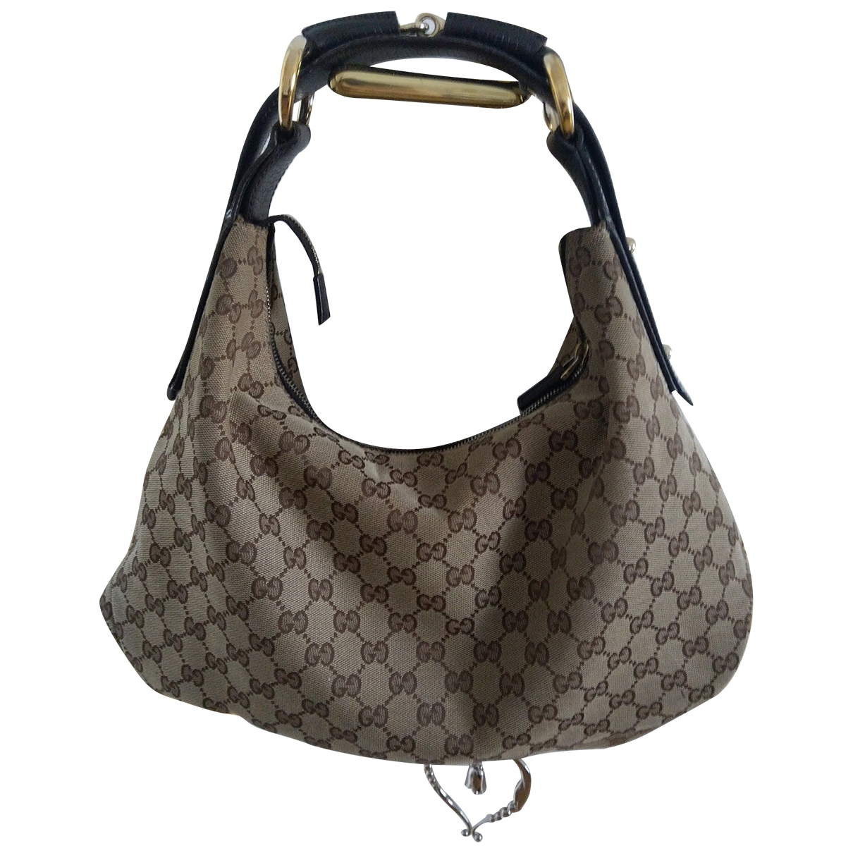 Gucci Hobo Brown Linen handbag for Women \N