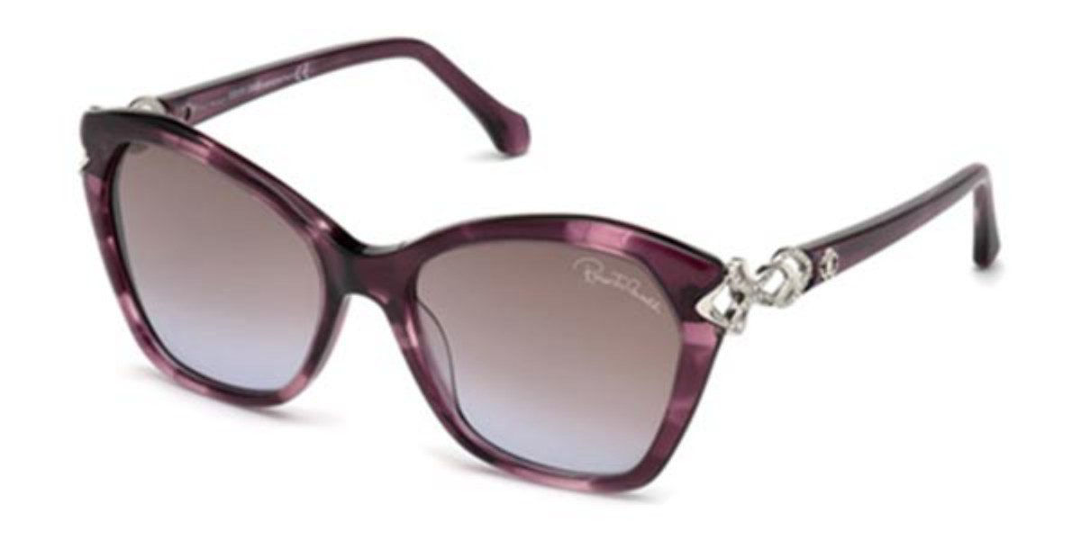 Roberto Cavalli RC 1077 83Z Women's Sunglasses Violet Size 55