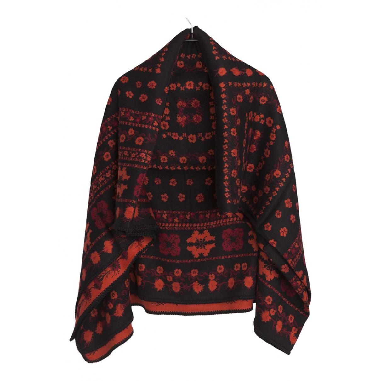Alexander Mcqueen - Foulard   pour femme en laine - noir