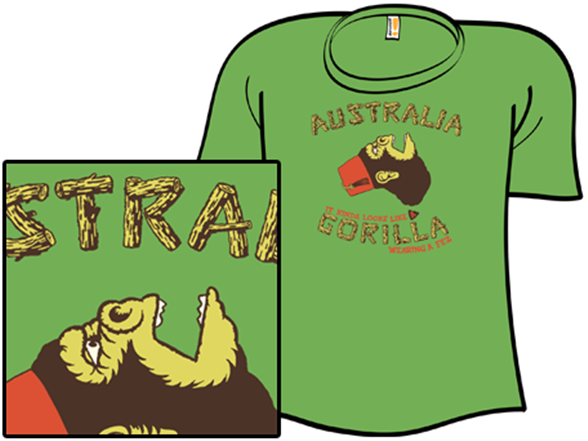 Feztive Primate T Shirt