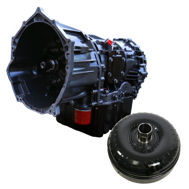 BD Diesel 1064744BM BD Duramax Allison Transmission & Converter Package - Chevy 2007-2010 LMM 4wd