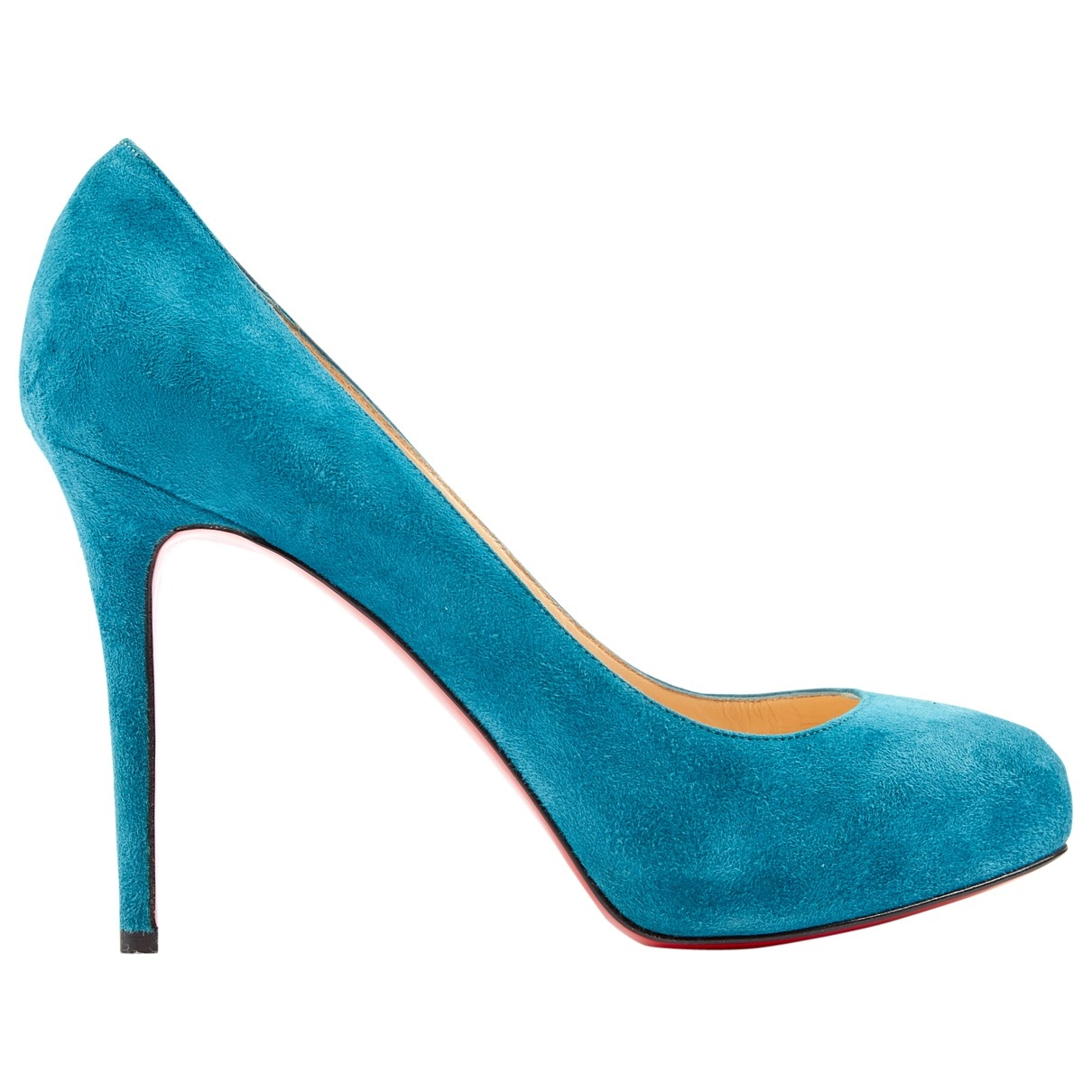 Christian Louboutin Simple pump Pumps in  Blau Veloursleder