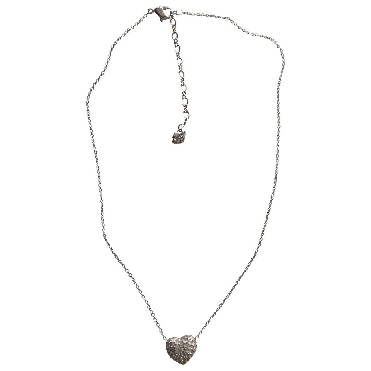 Swarovski \N Silver Steel necklace for Women \N