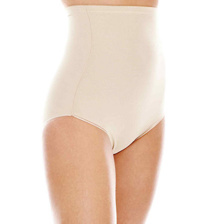 Naomi And Nicole Unbelievable Comfort Wonderful Edge Comfortable Firm Firm Control Control Briefs 775, 3x-large , Beige