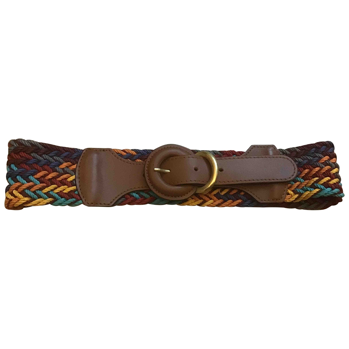 Non Signé / Unsigned \N Multicolour Leather belt for Women XS International