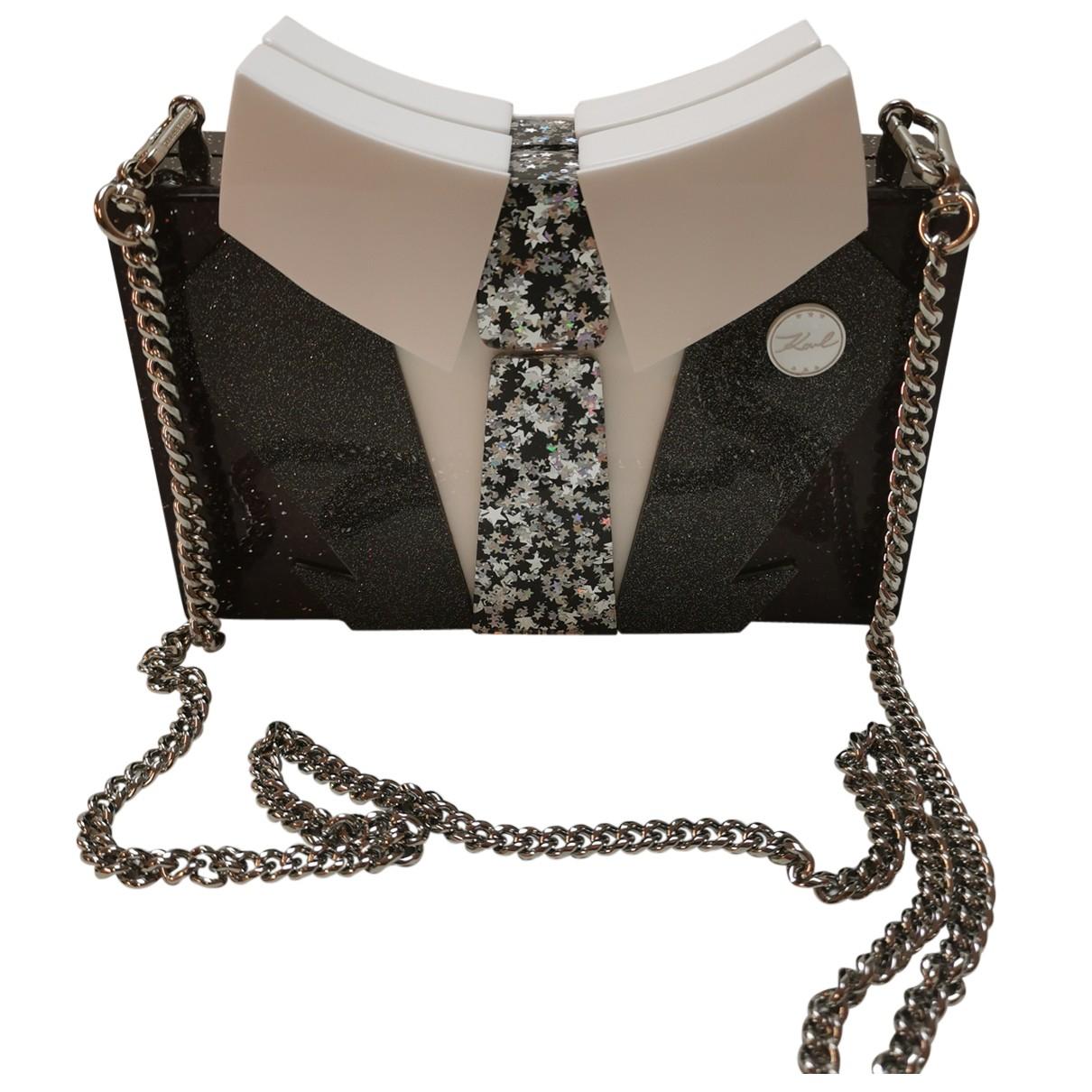 Karl Lagerfeld N Burgundy Clutch bag for Women N
