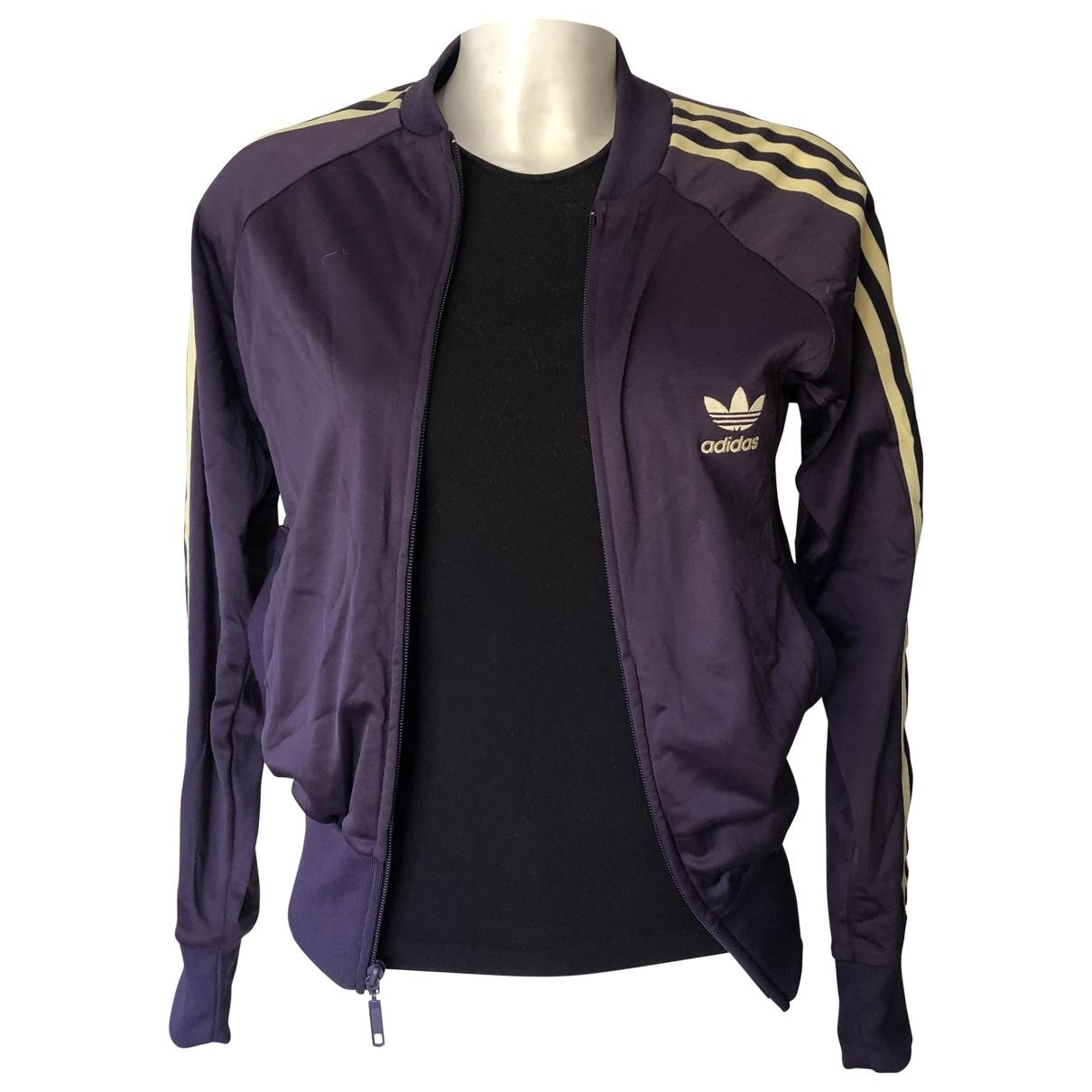 Adidas \N Jacke in  Lila Polyester