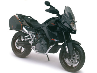 KTM 990 SM-T Black 1/12 Diecast Motorcycle Model by Automaxx