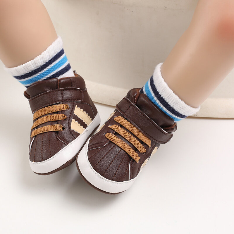 Baby Toddler Shoes Cute Comfy Warm Soft Hook Loop Sport Casual Shoes