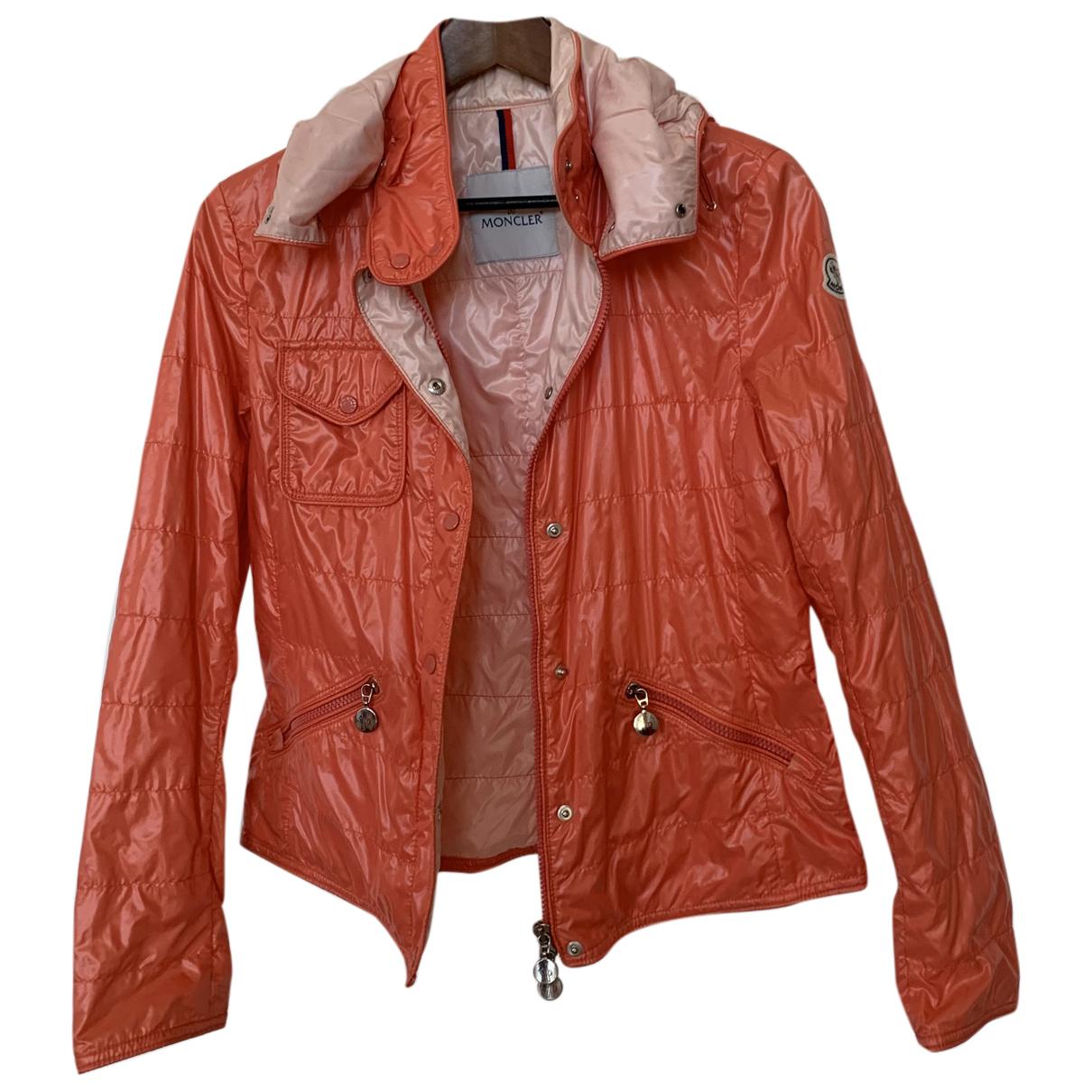 Moncler - Veste   pour femme - orange
