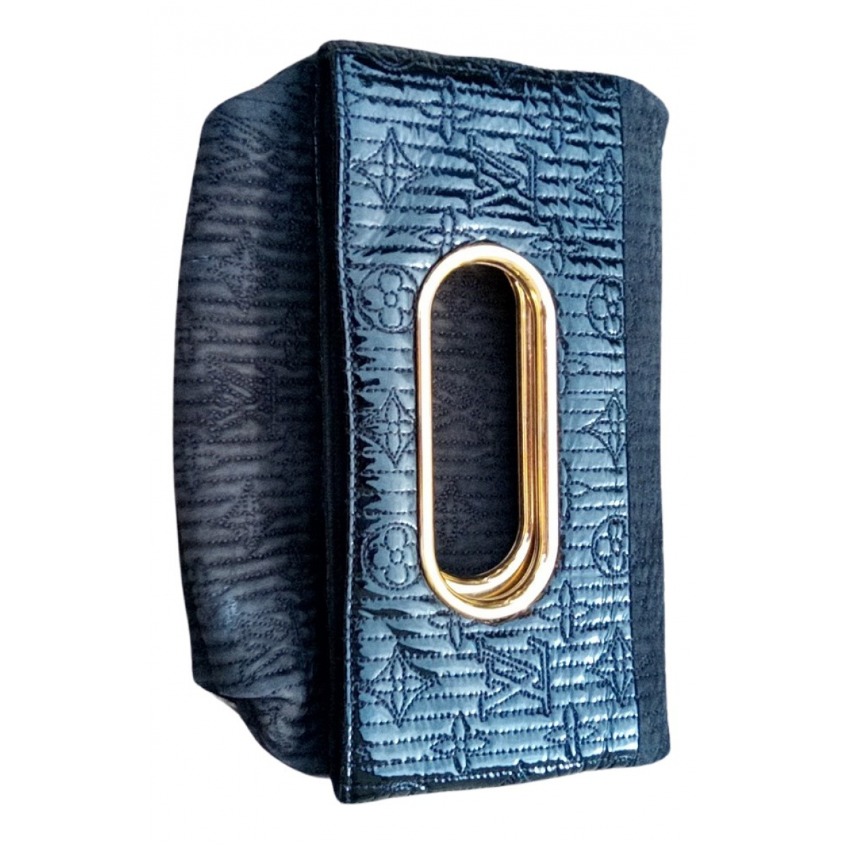 Louis Vuitton - Pochette   pour femme en cuir verni - noir