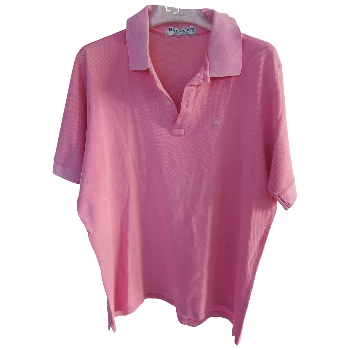 Burberry \N Poloshirts in  Rosa Baumwolle