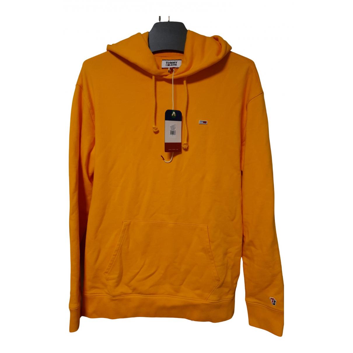 Tommy Hilfiger \N Pullover.Westen.Sweatshirts  in  Gelb Wolle