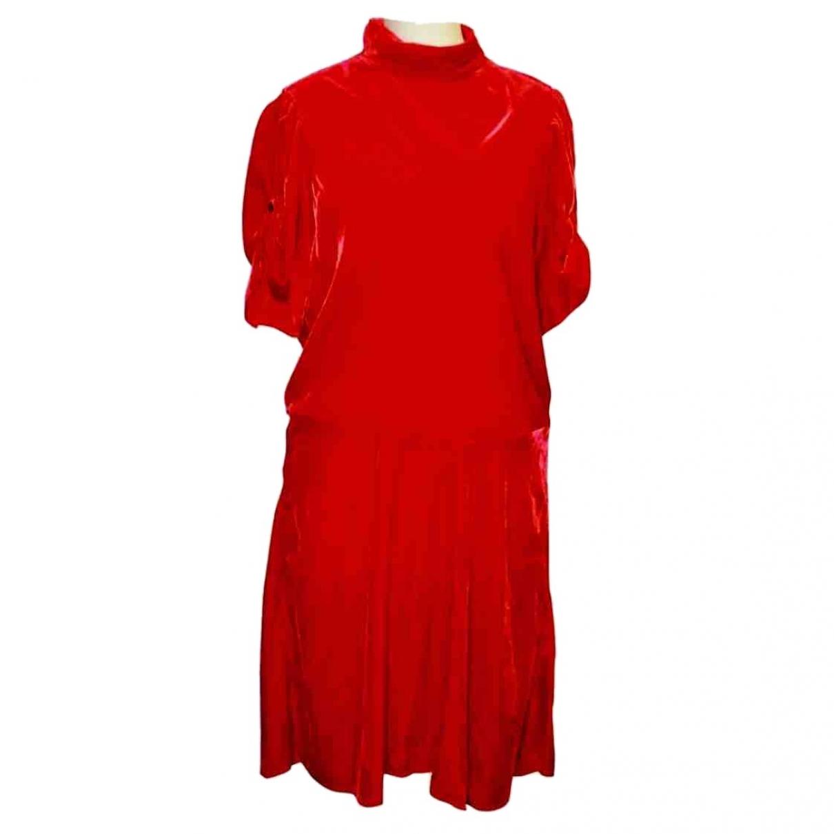 Isabel Marant - Robe   pour femme en velours - rouge