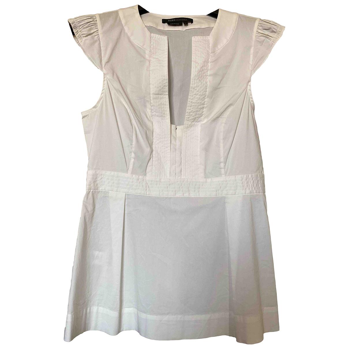 Bcbg Max Azria - Top   pour femme en coton - blanc