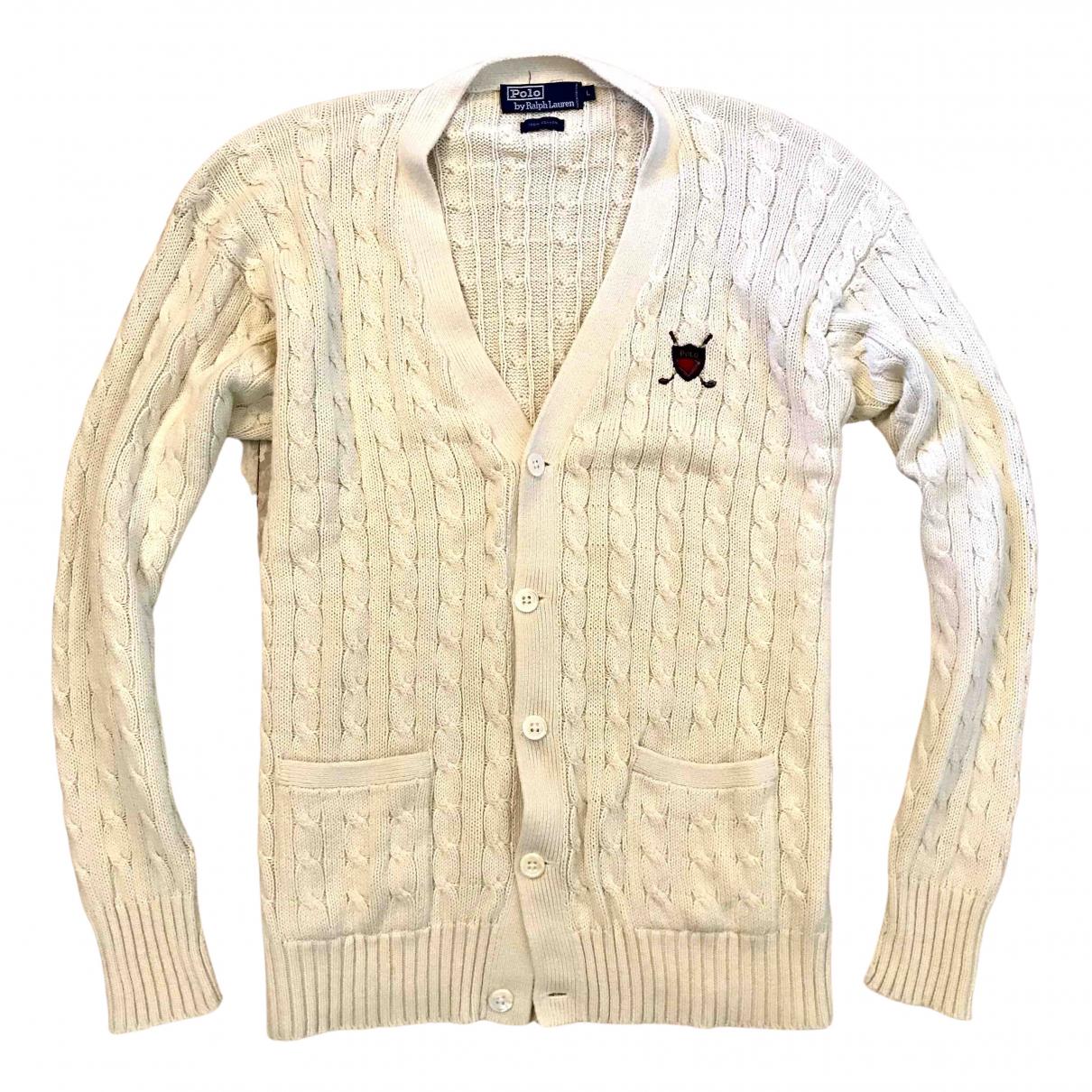 Polo Ralph Lauren - Pulls.Gilets.Sweats   pour homme en coton - beige