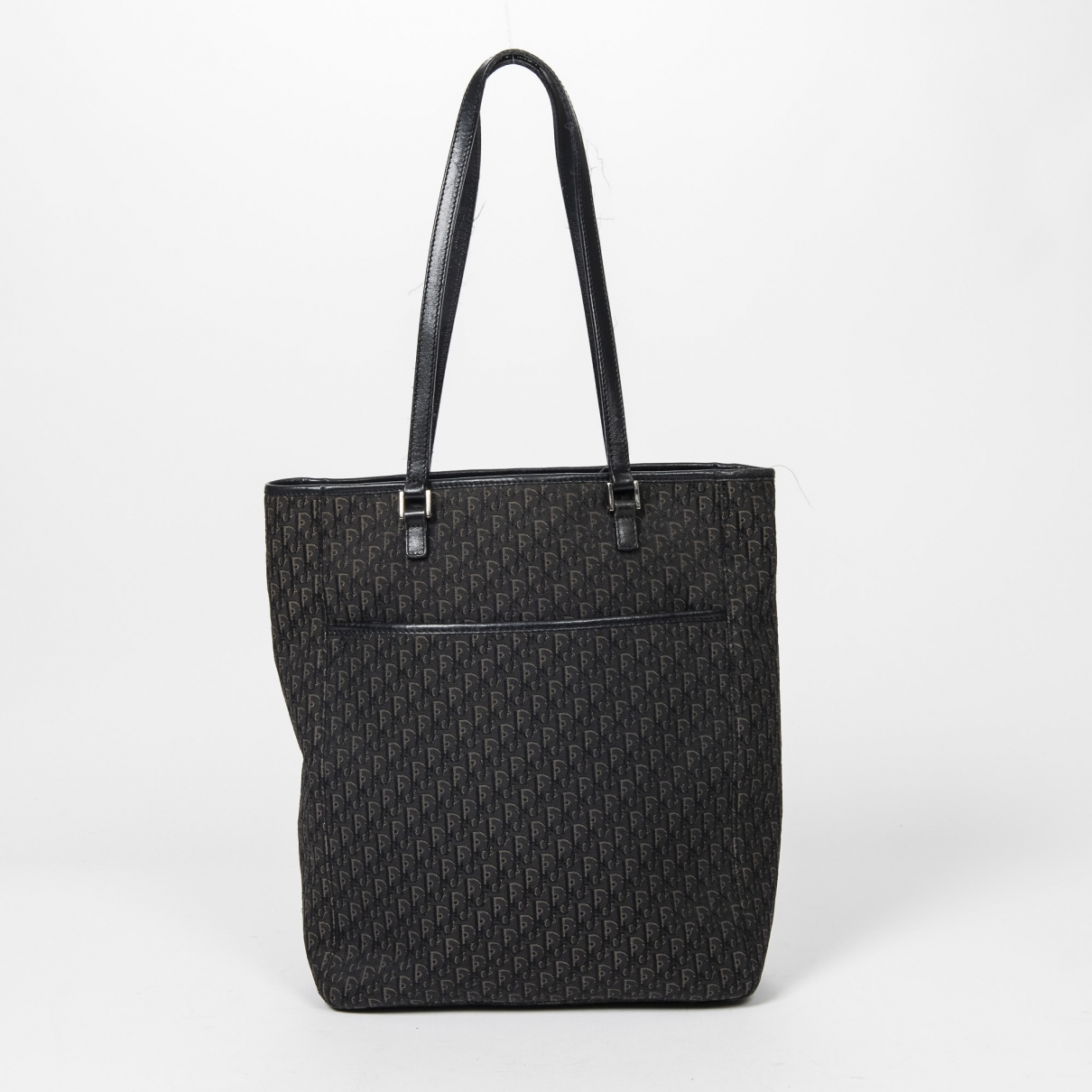 Dior - Sac a main   pour femme en coton - noir