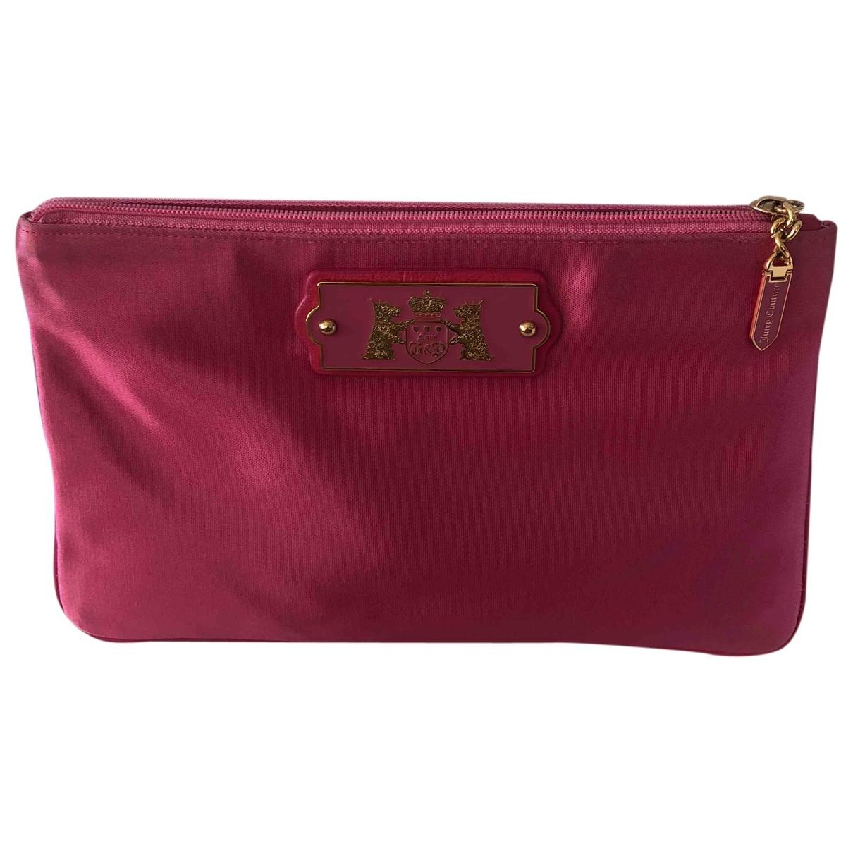 Juicy Couture - Petite maroquinerie   pour femme en autre - rose