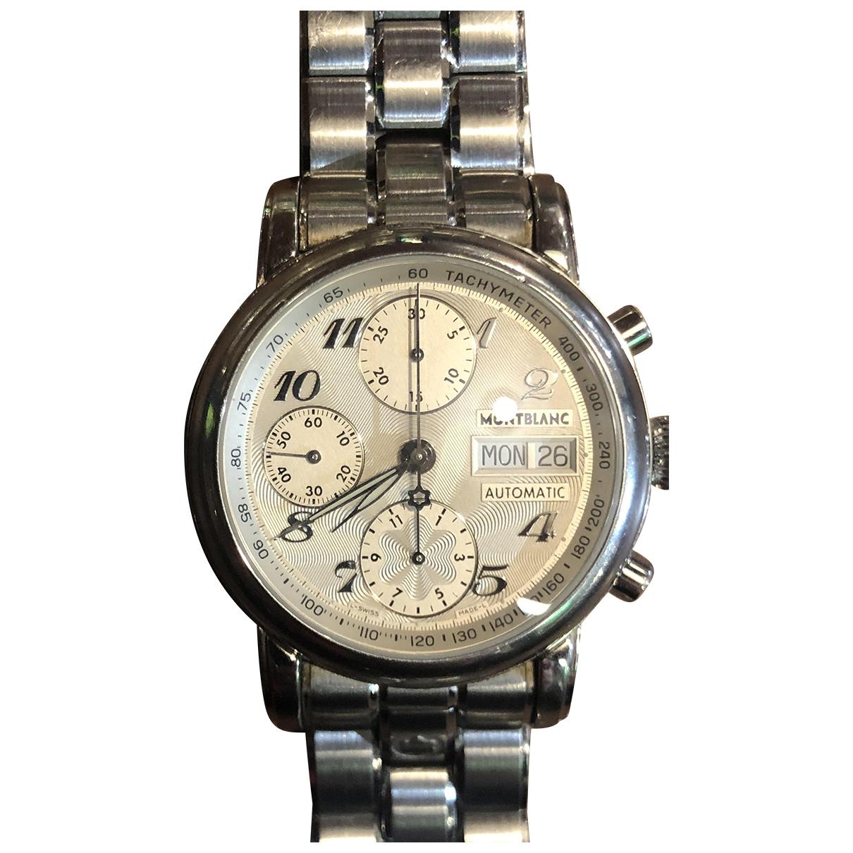 Montblanc Meisterstuck Silver Steel watch for Men \N