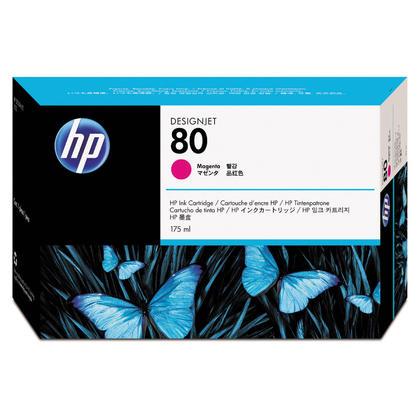 HP 80 C4874A Original Magenta Ink Cartridge 175ml